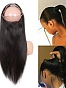 Guanyuwigs Brasilianskt hår 360 Fasad Rak Schweizisk spetsperuk Remy-hår Dam Silkig / Dam / Ny ankomst Party / Vardag / Dagliga kläder / Naturlig hårlinje / Naturlig hårlinje
