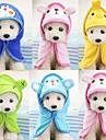 Bärbar / Tvättbar Hundkläder Städning Enfärgad / Kreativ / Mode Armégrön / Himmelsblå / Rosa Gnagare / Hund / Katt