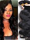 6 paket Peruanskt hår Kroppsvågor Äkta hår Obehandlat Mänsligt hår Human Hår vävar En Pack Lösning Hårförlängningar av äkta hår 8-28 tum Naurlig färg Hårförlängning av äkta hår Mjuk Heta Försäljning