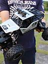 Radiostyrd bil 6255A Hugefoot Monster Truck 4 Kanaler 2.4G SUV (Längdåkning) / Bergsklättring Bil / Monster Truck Titanfoot 1:16 Borstlös elektrisk 20 km/h Fri Från Vatten / Smuts / Stöt