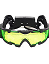 Night Vision Goggles with Flip out Blue Led Lights Lenses Waterproof Adjustable LED Fogproof Camping Hiking Hunting Shooting to Protect Eyes Children\'s Day Gift Plastic Metal