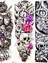 3 pcs tillfälliga tatueringar Djurserier / Blomserier Lena klistermärken / Miljövänlig / Engångsvara Body art arm / Ben / Dekalstil tillfälliga tatueringar