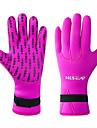 HISEA® Dykning Handskar 3mm NEOPRENE Neopren våtdräkthandskar Håller värmen Anti-Halk Bekväm Simmning Dykning Snorkelfenor / Neoprene / Elastisk
