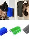 Katt Städning Plast Borstar Tvättbar Fodral inkluderat Husdjur Skötselprodukter Grön Blå Grå 1