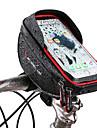 Wheel up Mobilväska Väska till cykelstyret 6 tum Pekskärm Reflekterande Cykelsport för Cykling iPhone X iPhone XR Rubinrött Svart Mountainbike Racercykel / iPhone XS / iPhone XS Max