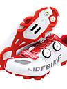 SIDEBIKE MTB-skor Kolfiber Vattentät Andningsfunktion Anti-halk Cykelsport Röd / Vit Herr Cykelskor / Stötdämpande / Ventilerande / Stötdämpande / Ventilerande