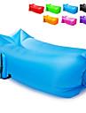 21Grams Luftbädd Uppblåsbar soffa Luftmadrass Utomhus Vattentät Bärbar Snabb uppblåsbar Ultra Lätt (UL) Nylon Camping Strand Utomhus Vår Sommar Höst Grön Blå Rosa