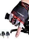 Cykelhandskar Bergscykling Andningsfunktion Anti-halk Svettavvisande Skyddande Fingerlösa Halvt finger Aktivitet/Sport Handskar Grön Röd Blå för Vuxna Utomhus