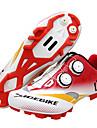 SIDEBIKE MTB-skor Vattentät Andningsfunktion Anti-halk Cykelsport Vit+Röd Herr Cykelskor / Stötdämpande / Ventilerande / Stötdämpande / Ventilerande