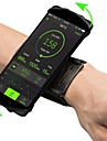 Armband Mobilväska Justerbara Lättvikt Hög Elasisitet Utomhus Resor Löpning Fitness Lycra Spandex Grön Blå Rosa