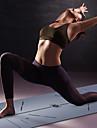 Yoga Matta 183*68*0.5 cm Luktfri Miljövänlig Halkfri Hög densitet Naturgummi Slimmande Viktminskning Fettförbrännare Position Line För Yoga Pilates Motion & Fitness Svart Mörkgrå Röd Persika