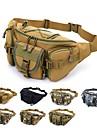 Midjeväska Militär taktisk ryggsäck Multifunktionell Regnsäker Slitstyrka Multi Pocket Utomhus Camping Cykling / Cykel Resa oxford Blå Grå Kamoflage