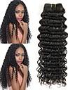 4 paket Brasilianskt hår Stora vågor Obehandlad hår Obehandlat Mänsligt hår Human Hår vävar En Pack Lösning Hårförlängningar av äkta hår 8-28 tum Naurlig färg Hårförlängning av äkta hår Ny ankomst