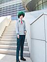 Inspirerad av My Hero Academia / Boku No Hero Midoriya Izuku / Todoroki Shoto Animé Cosplay-kostymer Japanska cosplay Suits Anime / Enfärgad Kappa / Skjorta / Byxor Till Herr / Knyta / Kostym / Knyta