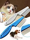 Hund Katt Trimnings Städning Plast Kammar Ledigt / vardag Husdjur Skötselprodukter Vit 1