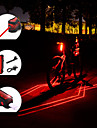 Laser LED Cykellyktor Baklykta till cykel säkerhetslampor Bergscykling Cykel Cykelsport Vattentät Bärbar Justerbar Lättvikt 150 lm Laddningsbart USB Röd Camping / Vandring / Grottkrypning