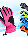 Vinterhandskar Skidhandskar Herr Dam Vintersport Helt finger Vinter Vattentät Vindtät Regnsäker PU läder Spinning Bomull Lycra Spandex Skidåkning Vintersport Snowboardåkning