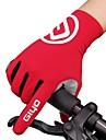 Vinter Cykelhandskar Cykelhandskar för mountainbike Bergscykling Vägcykling Håller värmen Andningsfunktion Anti-halk Svettavvisande Helt finger Aktivitet/Sport Handskar Lycra Silikongel Terry Cloth