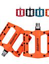 Mountainbike pedaler Plattform Förseglad Lager Anti-halk Hög Styrka Nylon fiber för Cykelsport Racercykel Mountain Bike BMX Orange