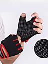 Träningshandskar Tyngdlyftande handskar Lycra superfin fiber Stretch Hållbar Andningsfunktion Motion & Fitness Gym träning Tyngdlyftning För Herr Dam händer