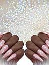 1 pcs Klassisk / Bästa kvalitet Glitter Glitter Till Fingernageö Romantisk serie Klassisker Tema nagel konst manikyr Pedikyr Jul / Halloween / Fest / afton Lyx / Aristokrat Lolita