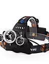 Pannlampor Framljus till cykel Vattentät Uppladdningsbar 4800 lm LED LED 3 utsläpps 4.0 Belysning läge med batterier och laddare Vattentät Uppladdningsbar Nattseende Camping / Vandring