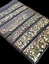 1440 pcs Klassisk / Bästa kvalitet Bergkristall Paljetter Till Fingernageö Romantisk serie Bröllop nagel konst manikyr Pedikyr Jul / Fest / afton / Kontor / Karriär Artistisk / Aristokrat Lolita