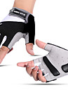 Bike Gloves / Cycling Gloves Mountain Bike MTB Breathable Anti-Slip Sweat-wicking Protective Fingerless Gloves Half Finger Sports Gloves Black Red Blue for Adults\' Fitness Gym Workout