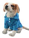 Hund Katt T-shirt Hundkläder Gul Röd Blå Kostym Polyester / Bomull Blandning Stjärnor Fritid XS S M L