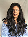 Remy-hår Hel-spets Spetsfront Peruk Asymmetrisk frisyr Wendy stil Brasilianskt hår Kroppsvågor Naturlig Peruk 130% 150% 180% Hårtäthet Moderiktig design Mjuk Dam Sexig Lady Heta Försäljning Dam