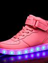 Flickor Lysande skor PU Sneakers Barn / Tonåring Röd / Blå / Rosa Höst / Gummi