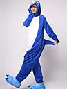 Vuxna Kigurumi-pyjamas Haj Djurmönstrad Onesie-pyjamas Flanell Cosplay För Herr och Dam Pyjamas med djur Tecknad serie Festival / högtid Kostymer