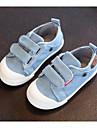 Pojkar / Flickor Komfort Kanvas Sneakers Småbarn (9m-4ys) / Lilla barn (4-7år) Karborreband Mörkblå / Ljusblå Vår & sommar / TPR (termogummi)