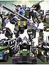 GUDI Byggklossar Byggsats Leksaker Utbildningsleksak 200-400 pcs Warrior Militär Stridsvagn kompatibel Legoing omvandlings Stridsvagn Alla Pojkar Flickor Leksaker Present