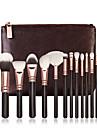 Professionell Makeupborstar 15st Fullständig Täckning Trä / Bambu för Sminkborste