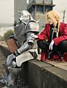 Inspirerad av Fullmetal Alchemist Edward Elric Animé Cosplay-kostymer Japanska cosplay Suits Lappverk Långärmad Kappa / Väst / Byxor Till Herr