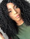 Obehandlad hår U-formad hätta Peruk Middle Part stil Brasilianskt hår Kinky Curly Naturlig Peruk 250% Hårtäthet med babyhår Bästa kvalitet Tjock Afro-amerikansk peruk med Clip Dam Mellan Äkta peruker