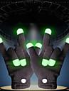 LED-belysning LED-handskar Fingerljus Klassisker Tema Belysning Fingertopp Semester Vuxen Alla Leksaker Present