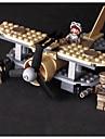 Byggklossar Byggsats Leksaker Utbildningsleksak 100-200 pcs Militär Jaktplan Pilot kompatibel Legoing Simulering Handgjort Flygplan Fighter Alla Pojkar Flickor Leksaker Present