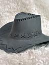 Westworld West Cowboy Cowboykostymer Vuxna Herr Hatt Ledigt Jul Halloween Karnival Festival / högtid Läder Blå / Rosa / Fuschia Karnival Kostymer Kurva
