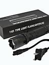 ZQ-X947 LED-Ficklampor 1501   1501 lm LED utsläpps Manual Belysning läge Enkel att bära Lättvikt EU-kontakt AU-kontakt UK-kontakt USA-kontakt Svart