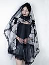 Svart svan Huvudbonad Slöjsmide Dam Film-cosplay Gotiskt Lolita Svart Huvudbonad Halloween Karnival Maskerad Tyll