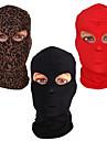 Zentai Dräkter Mask Hood Mask Barn Vuxna Cosplay-kostymer Masker Kön Halloween Herr Dam Svart / Rubinrött / Kaffe Enfärgad Halloween Karnival alla hjärtans dag / Huddräkt / Hög Elasisitet / Huddräkt