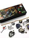 Smycken Inspirerad av The Legend of Zelda Cosplay Animé / Videospel Cosplay-tillbehör Dekorativa Halsband / Brosch Konstädelstenar / Legering Herr / Dam Halloweenkostymer