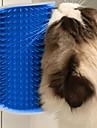 Katt Städning Plast Kammar Borstar Massage Husdjur Skötselprodukter Blå Rosa 1