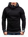Men\'s Hoodie Solid Colored Hooded Daily Basic Hoodies Sweatshirts  Long Sleeve Blue Gray Camel / Skinny