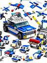 Byggklossar Byggsats Leksaker Utbildningsleksak 16 pcs Polis kompatibel Legoing Handgjort Föräldra-Barninteraktion Alla Pojkar Flickor Leksaker Present