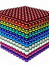1000 pcs 3mm Magnetleksaker Magnetiska kulor Byggklossar Superstarka neodymmagneter Neodymmagnet Neodymmagnet Stress och ångest Relief Office Desk Leksaker GDS (Gör det själv) Barn / Vuxna Pojkar