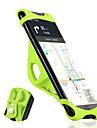 WEST BIKING® Mobilfäste till cykel Bärbar Slirsäker Enkel att sätta på för Racercykel Mountain Bike Silikon Aluminum Alloy iPhone X iPhone XS iPhone XR Cykelsport Svart Orange Grön
