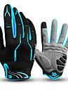 CoolChange Zima Cyklistické rukavice Rukavice na horská kola Horská cyklistika Protiskluzový Zahřívací Prodyšné Ter Emen Celý prst Akvitita a sport Terry Cloth Černá / červená modrá / černá Černá pro
